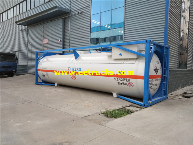 HCl Tanker Storage Containers