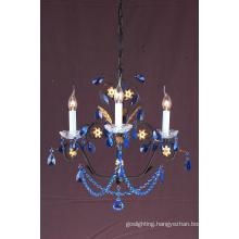 Hanging Crystal Painted Chandelier (1099-L3)