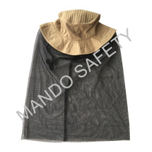 Хлопчатобумажная шляпа с москитной сеткой для безопасности