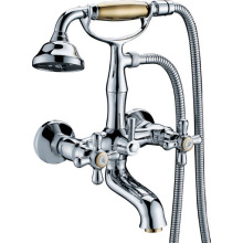 Kamar Mandi Bathtub Hand Shower Brass Chrome