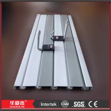 Forte do PVC Slatwall exibe UPVC Slatwall painéis PVC Slat Wall Boards