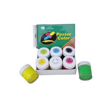 6 Colors 22ml Poster Paint