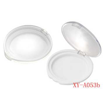 Round Plastic Compact Powder Case