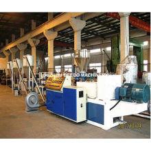 Máquina de granulador de madeira e plástico de PVC