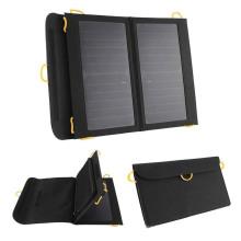 Chargeur de panneau solaire monocristallin portable 13W innovant à haute efficacité