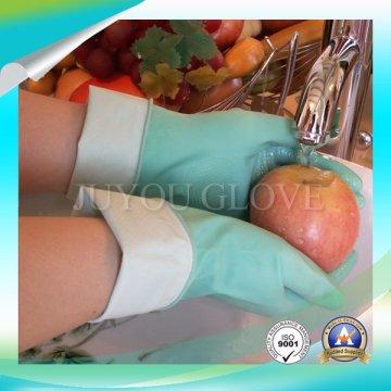 Des gants de travail de nettoyage Latex haute qualité avec ISO9001 approuvés