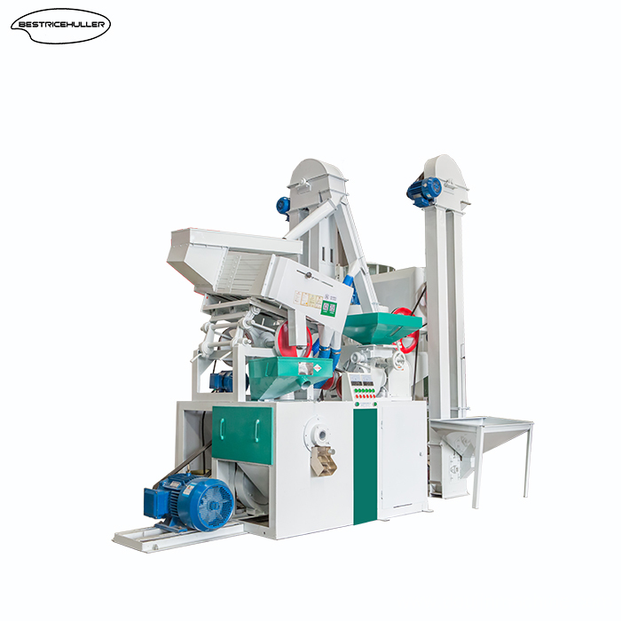 Rice milling machine with higher output