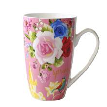 Caneca de café cerâmica do copo da porcelana (XLTCB-002 350)