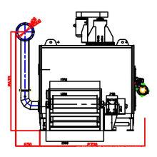 Secador de catalizador de três vias