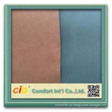 Tela para asiento tejido 100% microfibra poliester tela pa capa micro fibra cuero