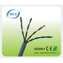 Fábrica de las ventas 4pr mejor precio utp cat5e alambre para el interruptor