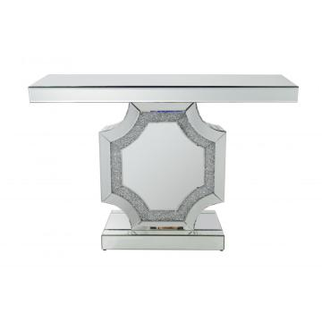 Table de console en miroir Crushed Diamond de vente chaude