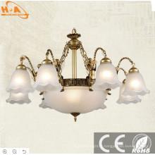 2017 Nouveau Belle Cadre Bronze Lumineux Blanc Chaud Lampe