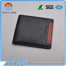 Man Shielding Black RFID Blocking Wallet