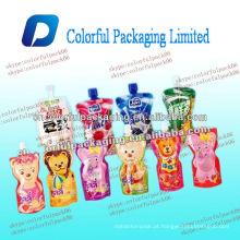 bocal bolsa / bolsa de iogurte / bolsa de embalagem de alimentos líquidos com bico