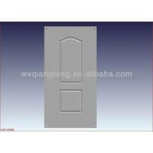 Door skin moulds for laminating door skins