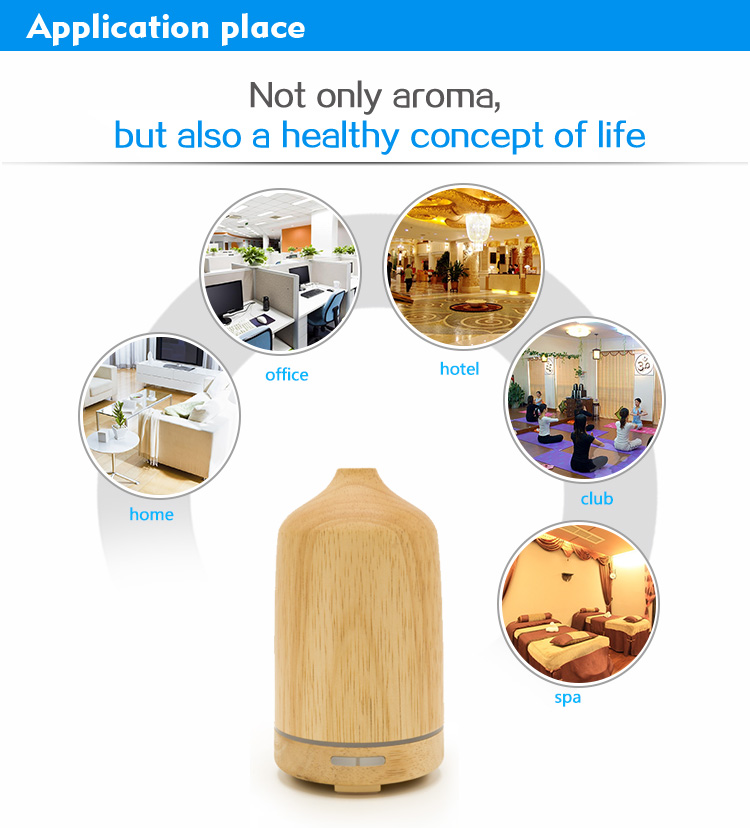 aromatherapy wooden diffuser