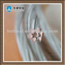 Câble en cuivre recouvert d'étain