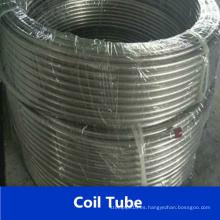 Tubería en espiral de acero inoxidable Tp316L