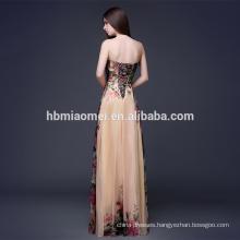 sexy strapless gown dress plus size evening dress
