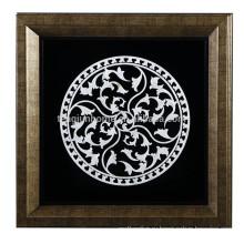 Оптовая Handmade геометрические абстрактные картины Shell ремесла для украшения стены Изображение