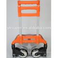 Aluminum foldable hand truck/shopping cart