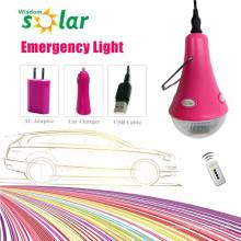 Vente chaude, éclairage de secours de voiture LED avec chargeur de voiture