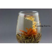 Fada do lírio + chá preto deixa o chá de florescência