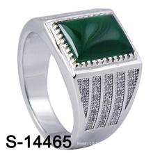 Nouvel anneau de bijoux en argent sterling 925 pour homme