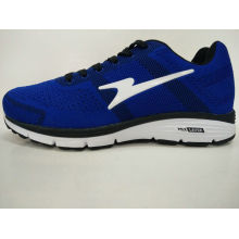 Royal Blue Knitting Easy Wear Fashion Men Shoes