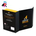 Caja de envío a todo color de encargo de alta calidad de la cartulina de la impresión de la cartulina