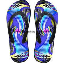 Самые популярные 3D печать повседневный флип-флоп тапочки обувь (FF68-16)