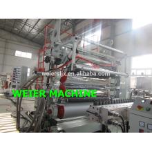 alto rendimiento de la maquinaria de producción de mármol hoja PVC UPVC