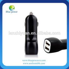 Mini tamaño 2 cargador USB del puerto 5V 2.1A cargador promocional del coche del USB con 2 puertos del USB