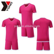YONO OEM 100% ployester jersey de football définit la quantité thaïlandaise football train jersey sublimation technique