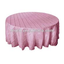 Luxus Taft Hochzeit Tischdecke, Pintuck Tischwäsche für Hochzeiten