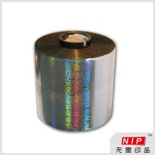 Einfach offen holographische selbstklebende Aufreißstreifen für Box-Verpackung