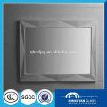 rahmenloser Spiegel aus Silber und Aluminium Spiegel mit polierter abgeschrägter Kante