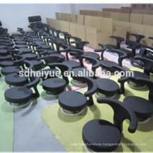 HY1033H Haiyue Factory Made Durable Metal Salon Black Lab Stool Round Lab Stools