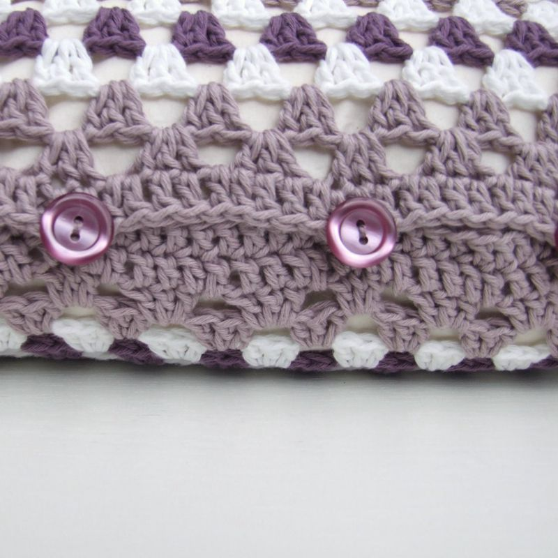 2 3crochet Cushion Cover
