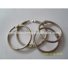 Manufacture wholesale die cast bag accessory metal o ring