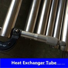 Tubo do trocador de calor em aço inoxidável de 304 / 304L 316 / 316L