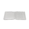 Vacuum forming PET double plastic blister packaging