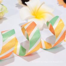 Fabrik Direktverkauf schiere Band / Polyester gewebte Bänder für feiern