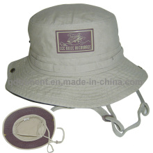 Washed Cotton Canvas Outdoor Climb Fishing Bucket Hat (TMBH03777-1)