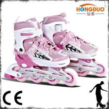 2015 hot sale adjustable roller skates inline skating shoes