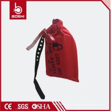 Bolsa de bloqueio do controlador de condução resistente ao desgaste com etiquetas de aviso BD-D71