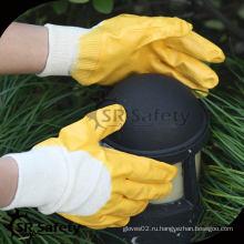 Лучшая защитная оболочка из 3/4 желтых нитриловых перчаток в Европе