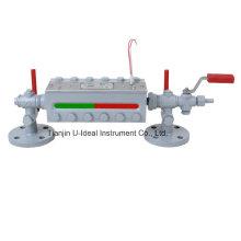 Indicador de nível de água Bi-Color da caldeira - Calibre do nível do tanque (B49H)