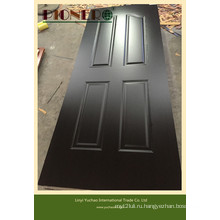Черный меламин дверь кожи ДВП 3,6 мм
